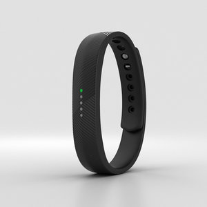 3D fitbit flex 2 model
