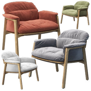 3D nomad easy chair tribu