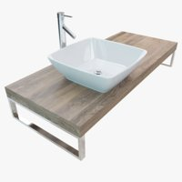bathroom washbasin plate 3D model