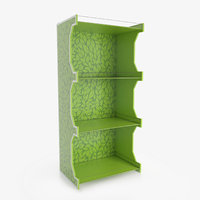 display rack 3D