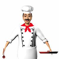 3D cook model