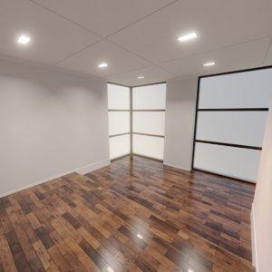 modern interior scene 6 model