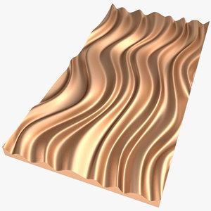 3D panel x1 model