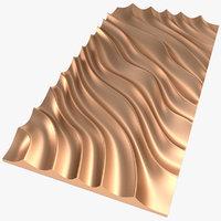 3D panel x2 model