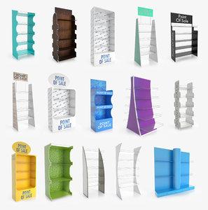 display rack 1 3D model
