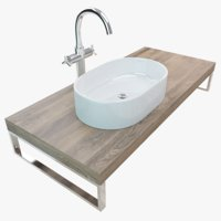 Bathroom Plate Washbasin 027