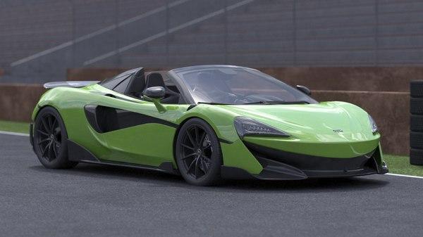 included scene car 3D model