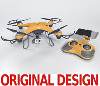 quadcopter drone quads 3ds