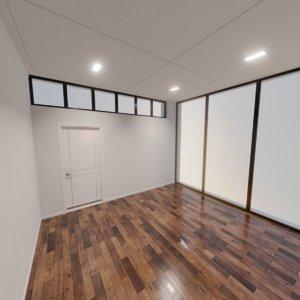 modern interior scene 3D model