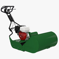 Reel Mower with Engine