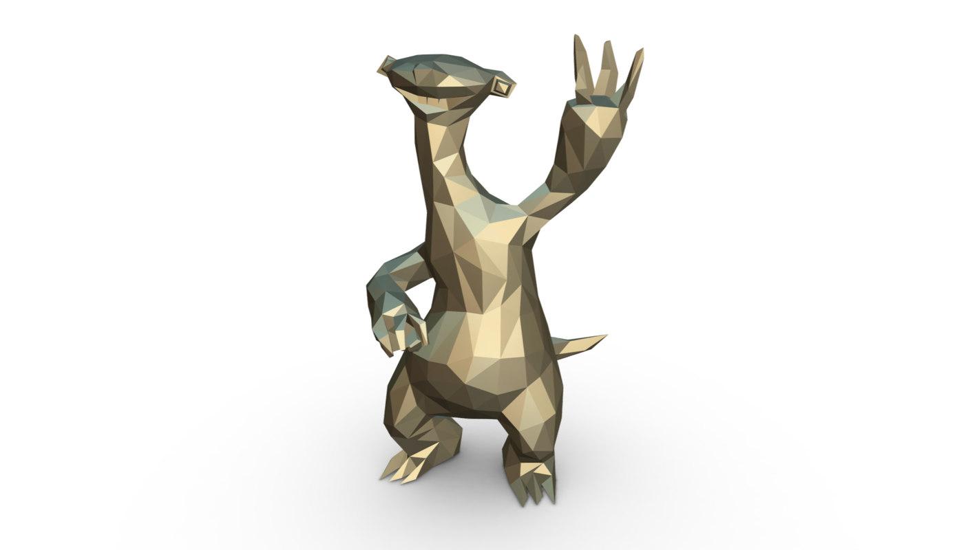 age character sid 3D model