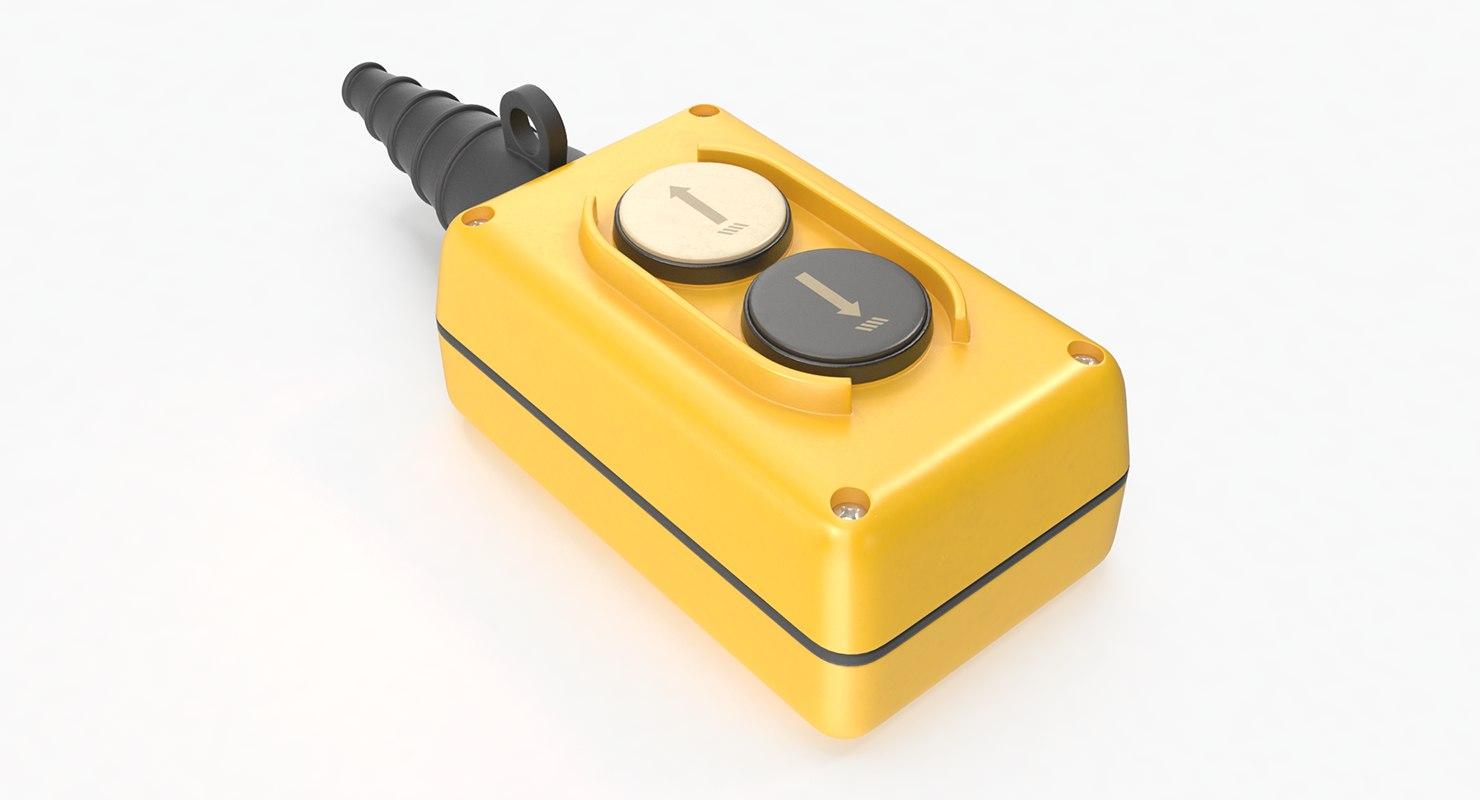 2-button pendant push button model