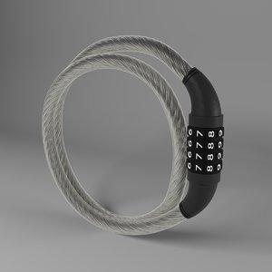 bicycle lock 3D