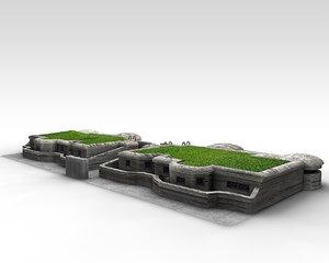 3D bunker ww2
