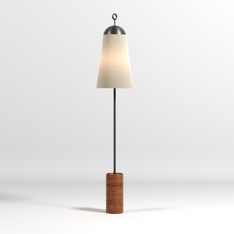 lamps light tripod 3D model