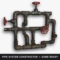pipe 3d 3ds