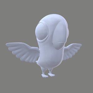 animal bird 3D model