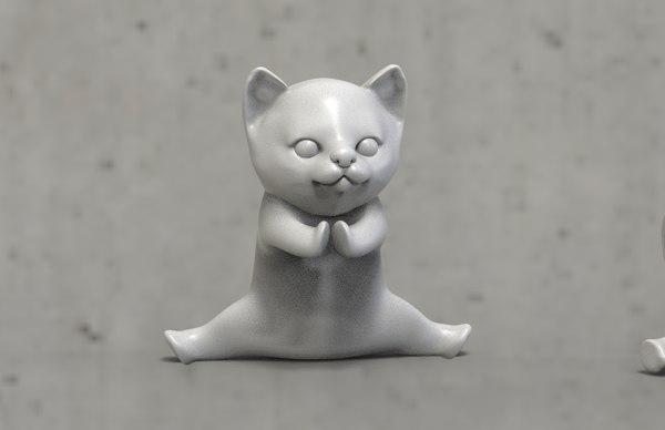 3D model cats printer
