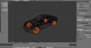 car shape keys 3D model