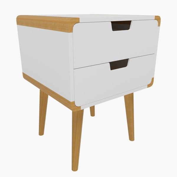 bedside table 08 model