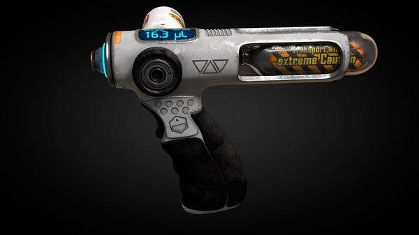 pressure injector 3D model
