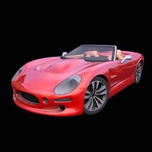 generic car 3D