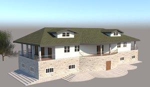 house revit 3D