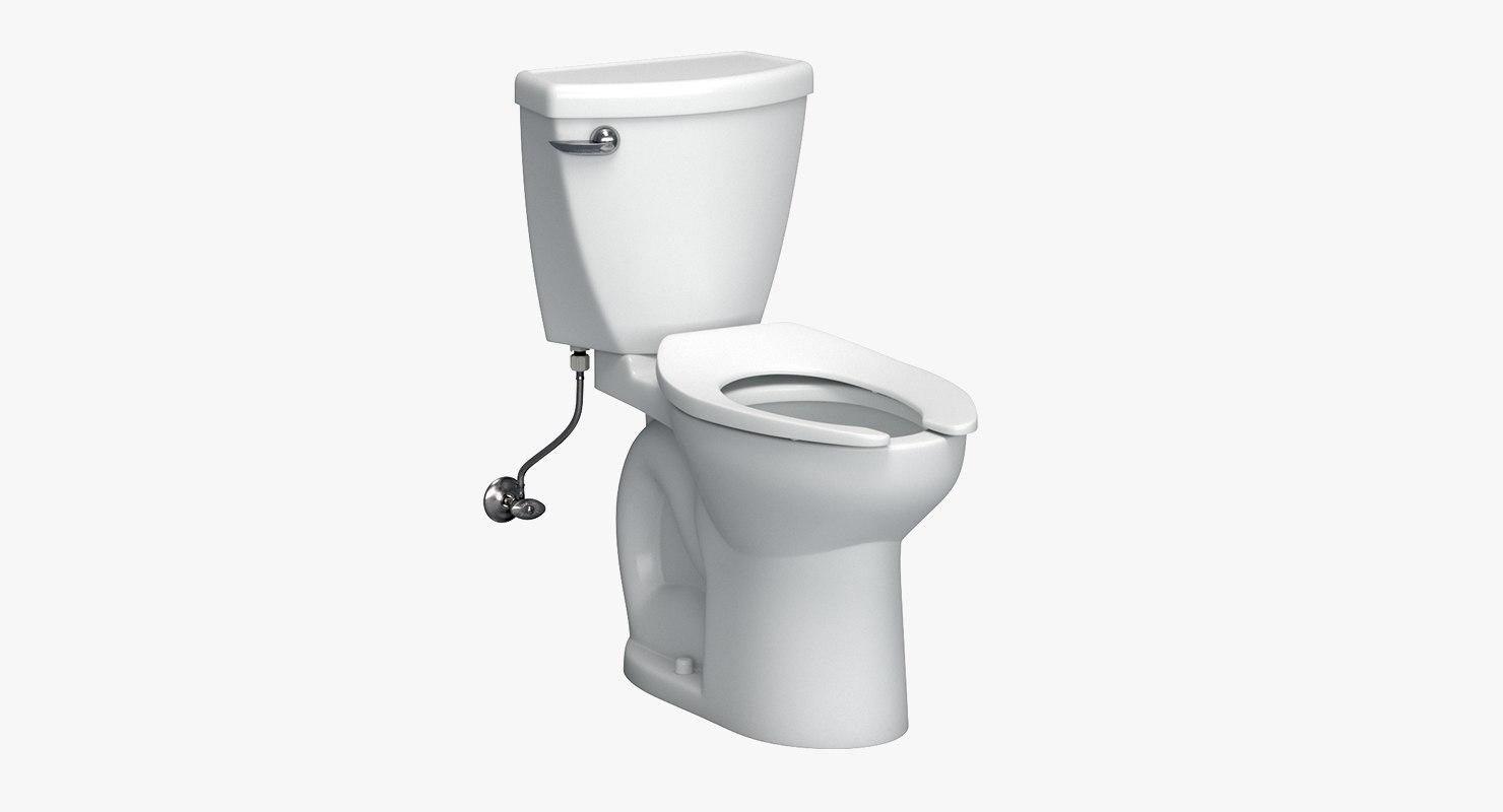 3D toilet valve