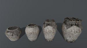 vase cover rope 3D model