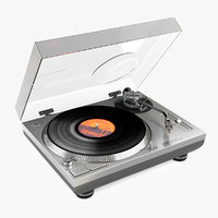 technics turntable sl-1210 3D model