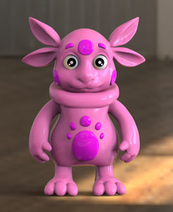 3D monster character