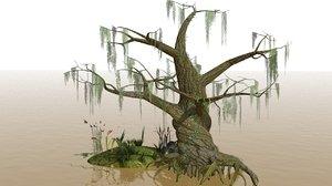 swamp snake turtle model