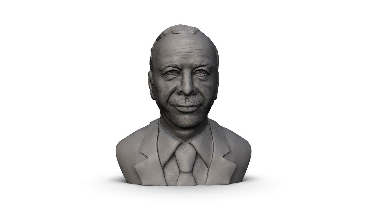 recep tayip erdogan 3D model