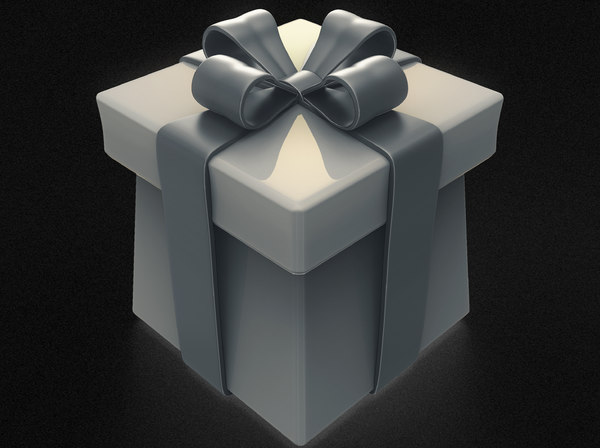 3D birthday gift box