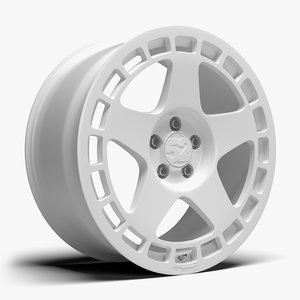 3D model fifteen52 turbomac wheel rim