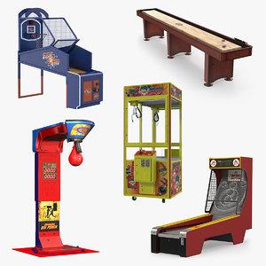 arcade games 3 3D model