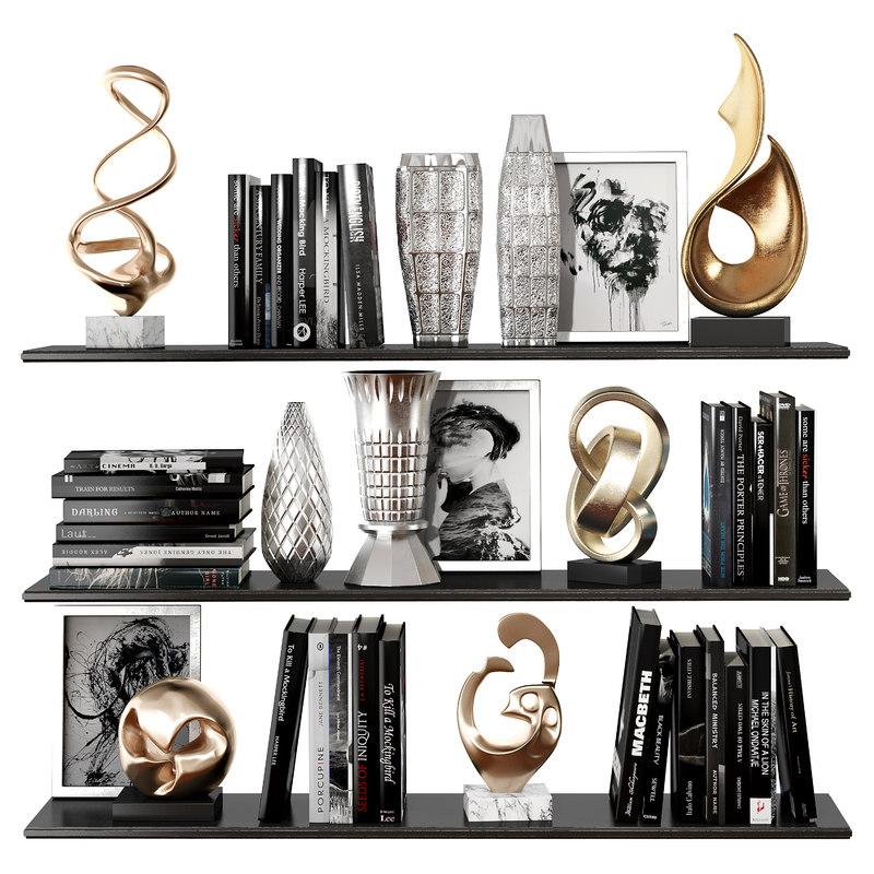 decorative set 29 3D