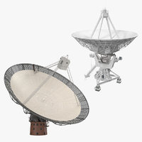 3D model radio telescopes