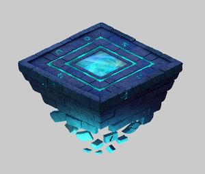 3D titan temple - shitai
