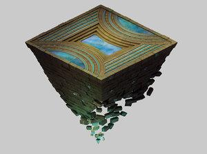 titan temple - shitai 3D model