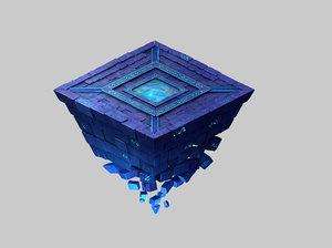 titan temple - shitai 3D