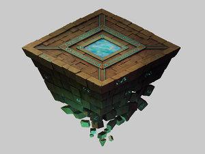 titan temple - shitai model