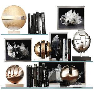 decorative set 31 3D model