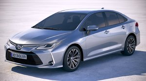 toyota corolla 2020 3D model