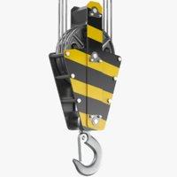 crane hook model