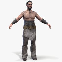 Khal Drogo Lowpoly