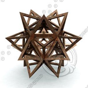 3D model icofaedron epirmenon cenon