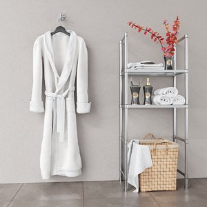 decor bathrobe 3D model