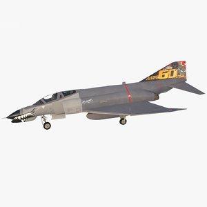 f-4e turkish air force 3D model