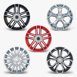 car rim wheel volume 3D model
